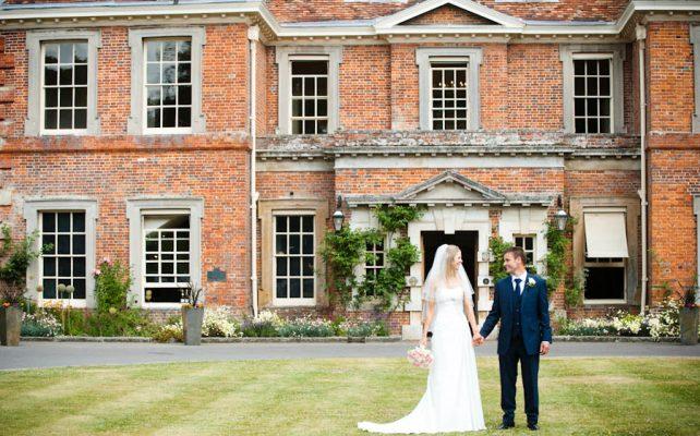 Wedding at Lainston House Hotel