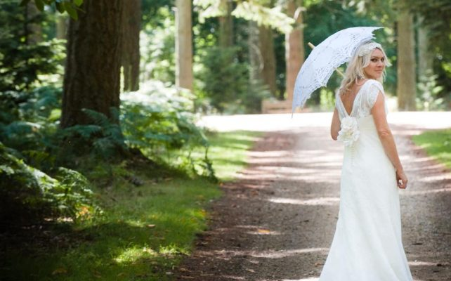 Bridal Shoot in the Forest