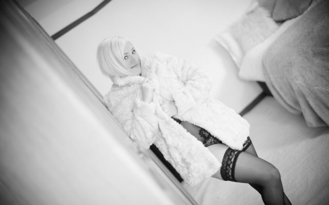 Boudoir Shoot competition win