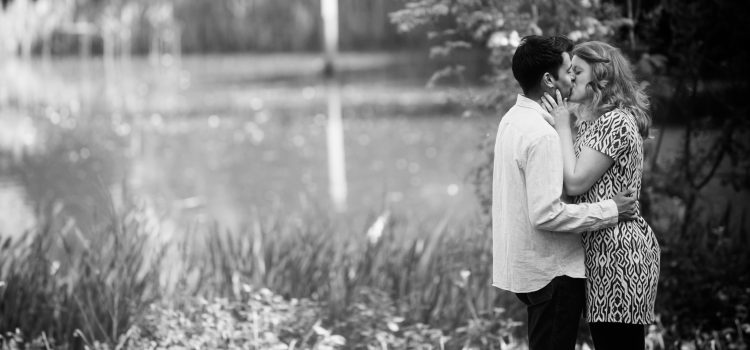 Engagement Session at Rownhams House